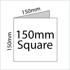 150mm Square Cards