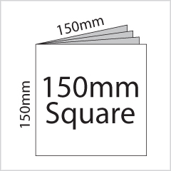 150mm Square Booklet Printing