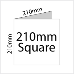 210mm Square Leaflet