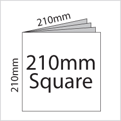 210mm Square Booklet Printing